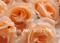 1000pcs Several Colors Available Artificial Silk Simulation Single Rose Camellia Flower Head 7cm for Wedding & Christmas Decor