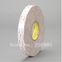 3M brand original VHB doulbe-sided adhesive acrylic foam tape 10mm*33m*5rolls/we can offer any size and any shape