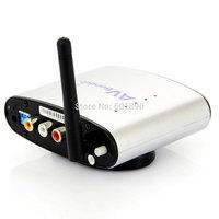 2.4G AV Sender &IR Remote Extender Wireless Transmitter 2.4ghz wireless av sender,Free Shipping,Wholesale # 190001