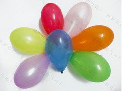 3 small balloons / target ball / water inflatable / Apple ball / toy balloons / 500pcs(China (Mainland))