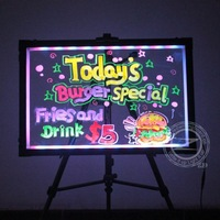 Led Writing Tablet with 90 Flashing Modes Free shipping!
