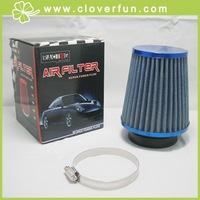 "Wholesale! 3"" OEM Racing Air Intake Filter,Dia 7.0cm in RED/BLUE"