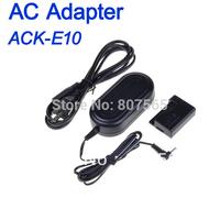 AC Power Adapter For Canon ACK-E10 ACKE10 EOS Rebel T3 T5 1100D Kiss X50 Adaptador adaptor