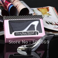 NEW 50set/lot wedding favors,High-heeled shoe bottle opener BO-001