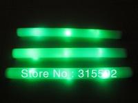 Free Shipping green 360pcs/lot led foam stick light cheering glow stick for Christmas