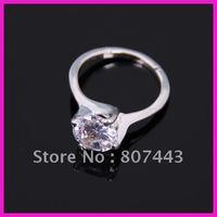 Hotsale 12pcs/lot Promotion zircon ring/free shipping