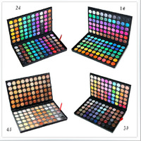Free shipping New Professional 120 Colors Eye Shadow  Palette  (30pcs)