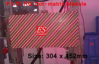 4.75mm Pitch  Indoor LED Display  Screen  Module / RGY Two color /  Size W304 x H152mm