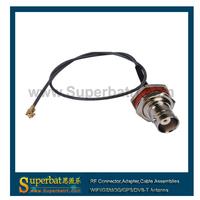 IPX / u.fl to BNC Jack female bulkhead  pigtail cable