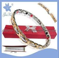 Stainless steel magnetic bracelet GUS-SB-050SG