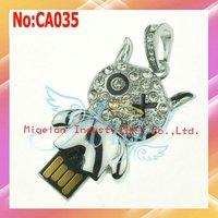 Wholesale 1GB 2GB 4GB 8GB 16GB 32GB 64GB usb flash drive jewelry usb flash drive #CA035