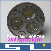 Home decoration,3W led spotlight ceiling, high brightness LED bulb, Save Power 3*1W,40pcs/Lot,free shipping