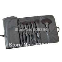 Big Discount ! 32pcs 32 pcs Cosmetic Facial Make up Brush Kit Makeup Brushes Tools Set + Black Leather Case 8154,Free Shipping