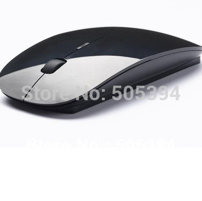 free shipping 2013 newest fashionable - wireless mouse and mice 2.4G receiver, super slim mouse#8141(China (Mainland))