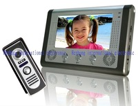 "7"" COLOR TFT LCD video door phone / outdoor unit rainproof"