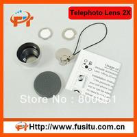 2x Telephoto Lens magnetic mount for iPhone 4 4S 4G ipad iPod i9100 i9220