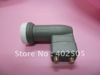 High gain low noise ku twin lnb 9.75/10.6GHz for satellite tv