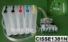 (CISSE1381N) CISS T1381 T1381 T1402 T1403 T1404 T138 T140 T 138 140 for EPSON Stylus Office TX525FW free shipping by DHL