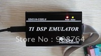Free Shipping hot sale USB 2.0 JTAG TMS320 XDS510 TI DSP Emulator Programmer +1 DVD+support CCS3.3+support WIN7 F2833x