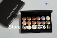 1piece Brand makeup MC 18 color Professional powder eye shadow palette 6 diff color eyeshadow 32g Dropship free shipping