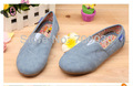 SoKoll Brand!! Blue Fabric Flat Walking Spring/Autumn Shoes for Children Girls Drop/Free Shipping