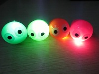 Free Shipping 576pcs/lot LED flashing ring flash finger ring LED light eye ring for Christmas