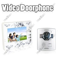 Home Security 7 inch TFT Monitor Video Doorphone Intercom Bell (  INS-DP22 )