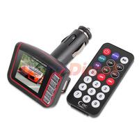 "1.8"" LCD Wireless FM Transmitter SD MMC USB Car MP4 Player"