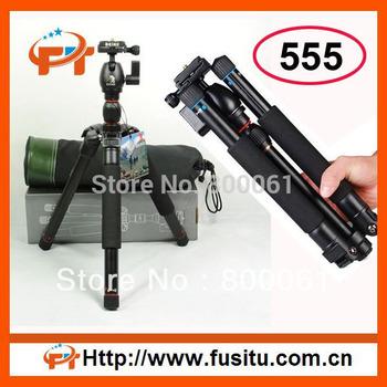 BEIKE BK-555 Pro Camera Tripod Kit with Ball Head for Canon/Nikon/Sony/Olympus DSLR