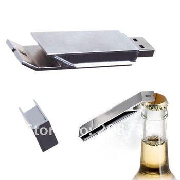 new bottle opener usb drive 1GB/2GB/4GB/8GB/16GB/32GB free shipping!