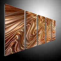 METAL PAINTINGING BY ARTIST XLEI Z abstract METAL wall Art Decor Contemporary new elegant Original Modern Sculpture