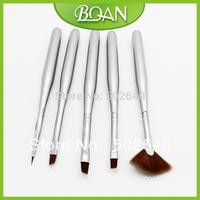 20 x 5 Pcs Nail Art Brush Set Nail Drawing Pen Painting Brush Set  Wood Handle Free Shipping