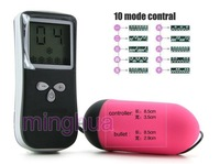 LCD controler wholesale 10 function speed vibrating remote control Vibrating Eggs sex toys,waterproof vibrator