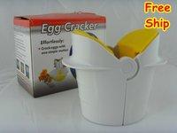 Easy Egg Cracker - Easily Separate an Egg from its Shell egg separator  As seen on TV
