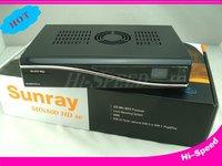 wholesales Sunray 800se 800hd se 800 hd se satellite receiver box BL84 SIM 2.10 400Mhz free shipping