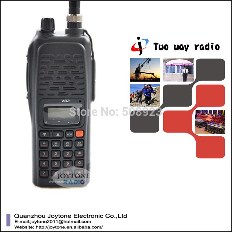 Free shipping long range portable transceiver radio (IC-V82)(China (Mainland))