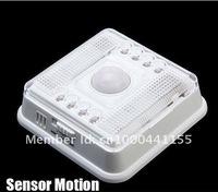 White 8 LED Light Lamp PIR Auto Sensor Motion Detector bulb sensor lamp LED