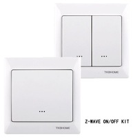Z-wave wall switch kit (1 pc  TZ66S+1 pc TZ66D+ free shipping to Europe)