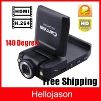 Free Shipping HD Car Black Box Camera DVR Car Driving Recorder Classical Night Vision K2000
