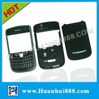 Wholesale black high quality mobile phone cover housings bold 9650 (TOUR 2/ESSEX) for blackberry