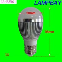 LED bulb 3W E27 high lumens , high quality two years warranty CE certificate