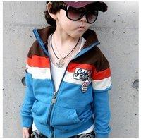 In stock -- Baby Boys' coat outwear kids cardigan velvet tops long sleeve boys one piece boy sweater ljh 0229 B
