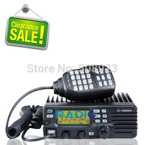 Free shipping 75w wireless vhf mobile radio IC-V8000(China (Mainland))
