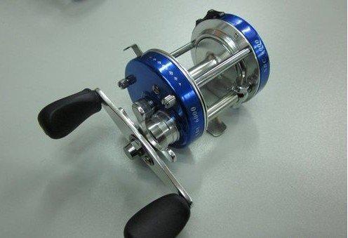size 40 fishing Al alloy lure baitcasting reel/ wheel free shipping(China (Mainland))