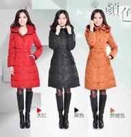 Newest Style Women Long Down Jacket/Coat/Garment ,Casual Slimmer Winter Warm Coat Ladies Plus Size 4XL