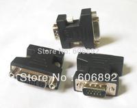 20pcs/lot 24+5 DVI Female to VGA Male Adapter/adaptor Converter/convertor Free Shipping via DHL or EMS