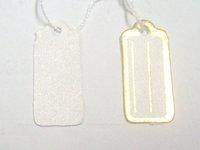 Free Shipping 500 pcs Label Tie price Tag Jewellery Display 13mmX25mm LA2