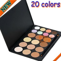 Makeup Palette 20 Color Camouflage Concealer Profession Enabling Layering And Mixing Black Case Free Shipping