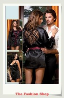 FREE SHIPPING 2014 New Sexy Chemises/Negligees Sexy Lingerie Hot Sleepwear Night Gown OK8444 Size M