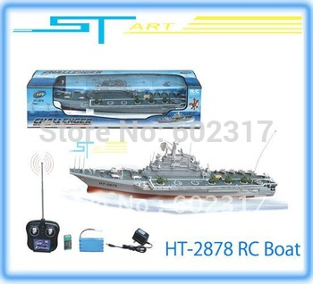 ST Model 4CH HT-2878 Remote Control remote control boat remote control model aircraft carrier low shipping supernova sale
